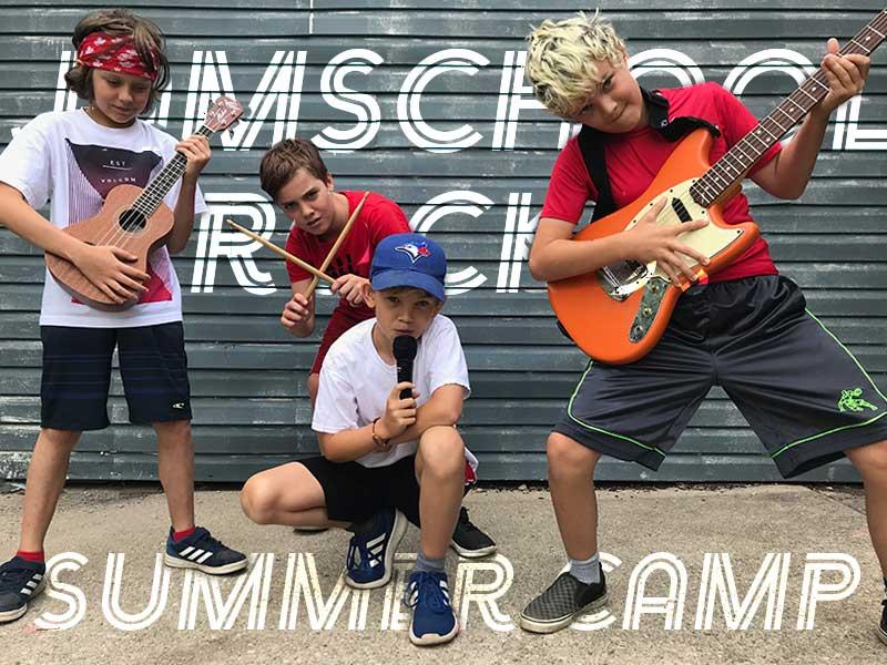 JamSchool Summer Camp Rocks